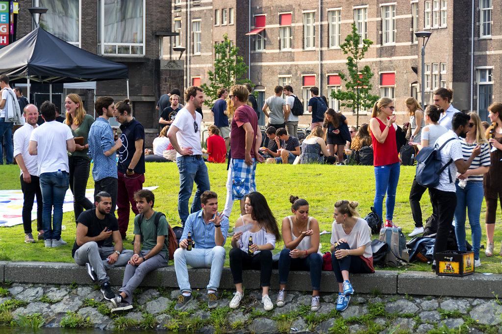 UvA - Summer Festival Roeterseiland 2016